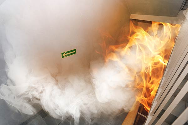 Smoke extract fans and fire-fighting systems