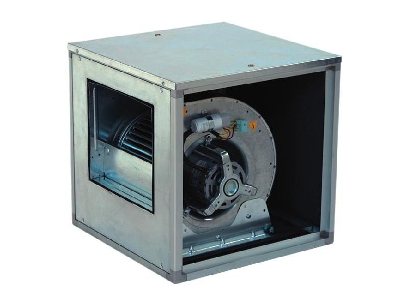 BOX-D Ventilatori cassonati centrifughi direttamente accoppiati e a doppia aspirazione