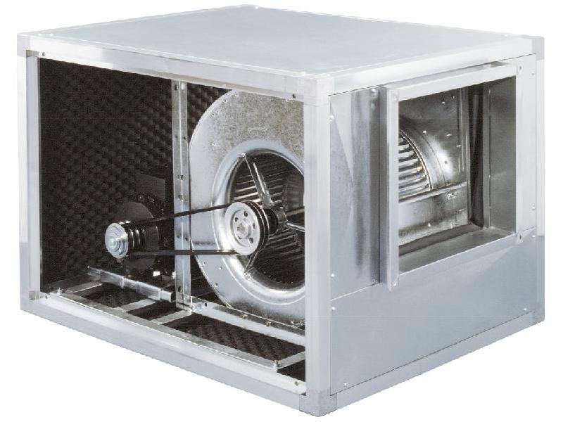 BOX-T Ventilatori cassonati a doppia aspirazione a trasmissione