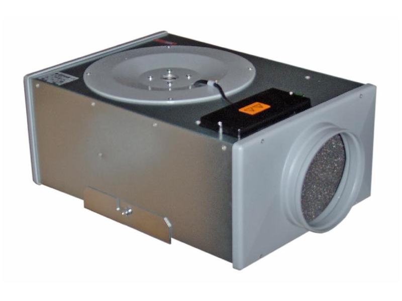 Mini-box Ventilatori centrifughi in linea insonorizzati